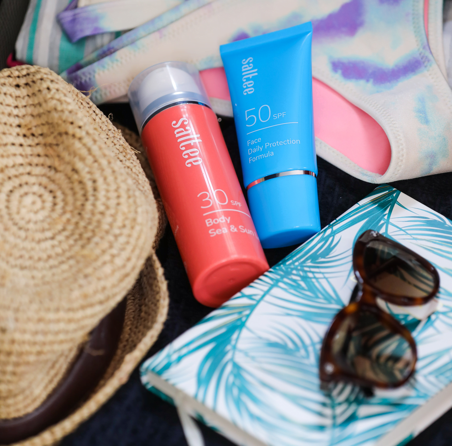 suncare and holiday accessories